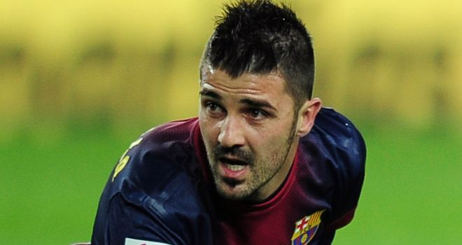 David Villa: Continues to suffer from kidney stones