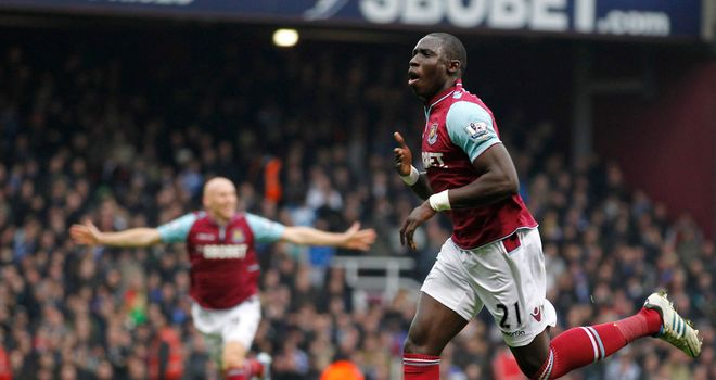 Mohamed Diame swung the game in West Ham's favour