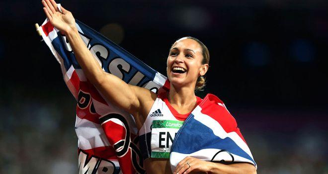 Jessica Ennis: Won gold in the heptathlon