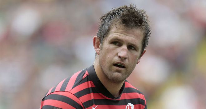 Ernst Joubert: Captains Saracens in the absence of Steve Borthwick
