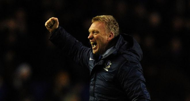 David Moyes: can finally bring Everton a trophy
