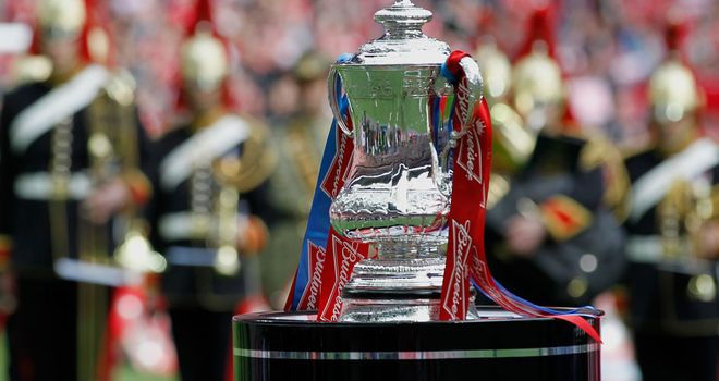 Who'll be getting their hands on the FA Cup trophy this year?