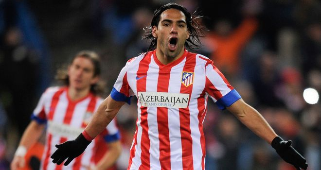 Falcao: Five goals for Atletico Madrid
