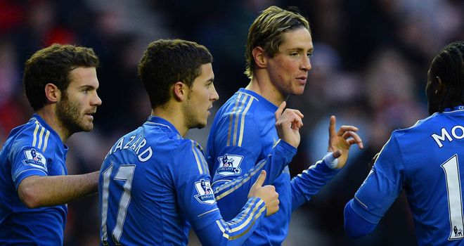 Fernando Torres: Opened the scoring in Chelsea's win at Sunderland