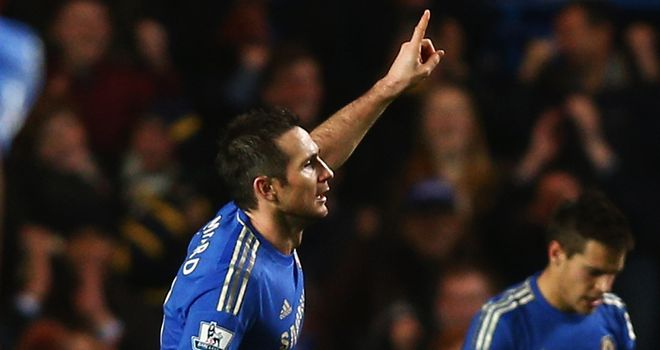 Frank Lampard: Proud to break Chelsea goalscoring record