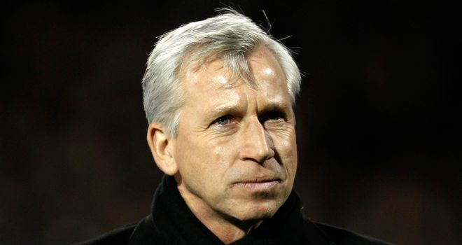 Alan Pardew's Newcastle have won just one game out of nine in all competitions