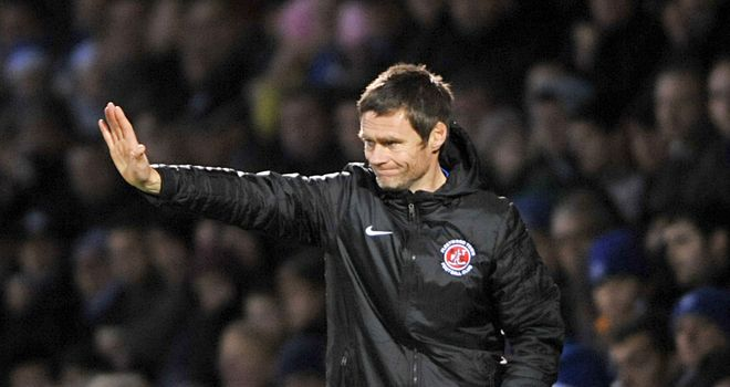 Graham Alexander: Less than satisfied