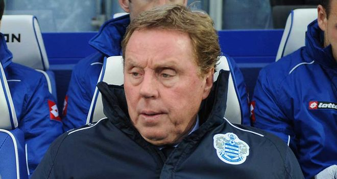 Harry Redknapp: Charged with the task of steering QPR to Premier League safety