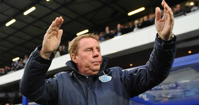 Harry Redknapp: Keeping QPR up would rate as his biggest achievement