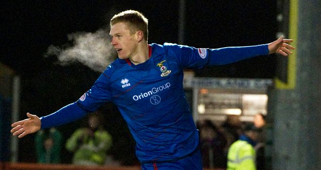 Billy McKay: Inverness striker has been linked with a return to England but Terry Butcher doesn't want to sell