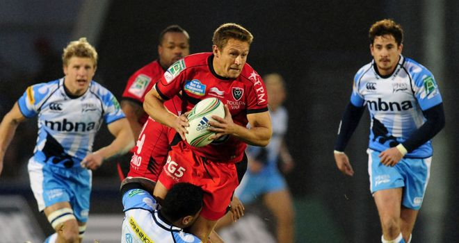 Jonny Wilkinson: had a rare off day with the boot for Toulon