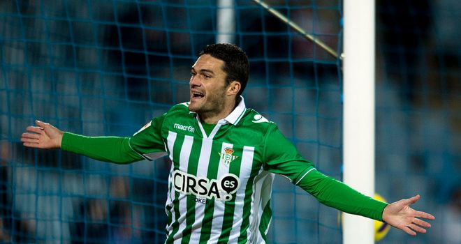 Jorge Molina scored the only goal of the game late on to seal all three points for Real Betis against Celta Vigo