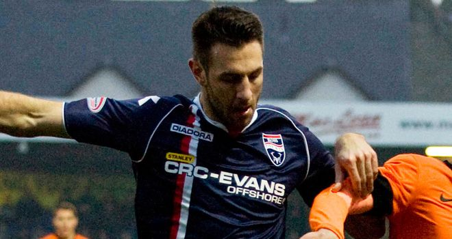 Mihael Kovacevic: No longer at Ross County