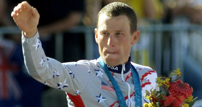 Lance Armstrong: Set to break his silence in an interview with Oprah Winfrey next week