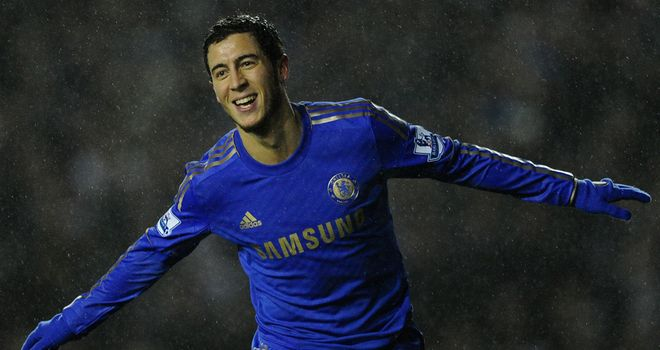 Eden Hazard: Awarded fourth goal in win over Stoke