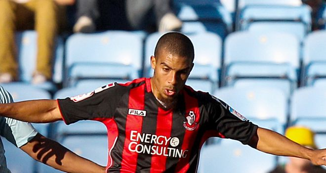 Lewis Grabban: On target in Bournemouth's win over Reading