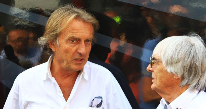 Luca di Montezemolo: Unhappy with testing and Bernie