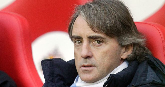 Roberto Mancini: Wants a solution to his striking problems