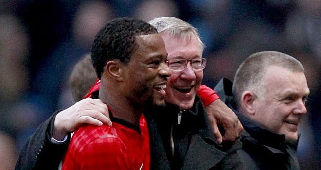Patrice Evra: No intention of leaving Manchester United