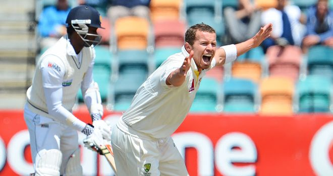 Peter Siddle in the clear over ball-tampering allegations