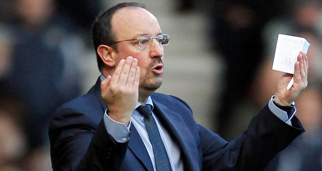 Rafa Benitez: Set to draw up a list of targets with Michael Emenalo
