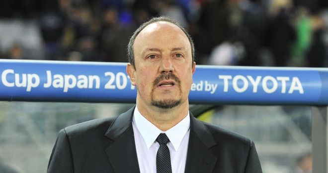 Rafa Benitez: Won the Club World Cup with Inter Milan in 2010 after succeeding Jose Mourinho