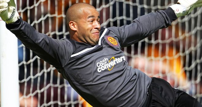 Darren Randolph: Kept Aberdeen at bay