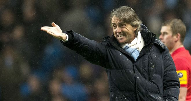 Roberto Mancini may choose to rest players when facing Watford
