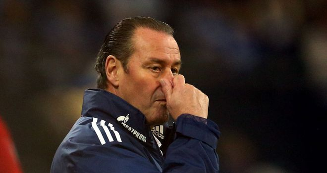 Huub Stevens: Leaves Schalke after poor run