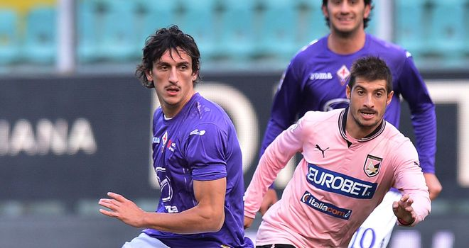 Stefan Savic and Franco Brienza vie