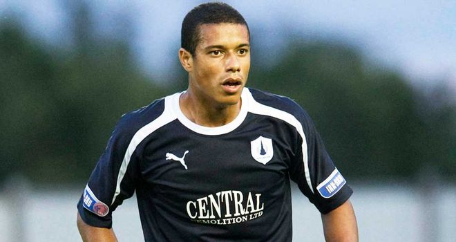 Lyle Taylor: On the mark again for Falkirk