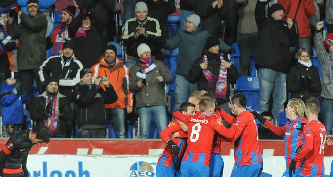 Viktoria Plzen: Celebrate win over Atletico