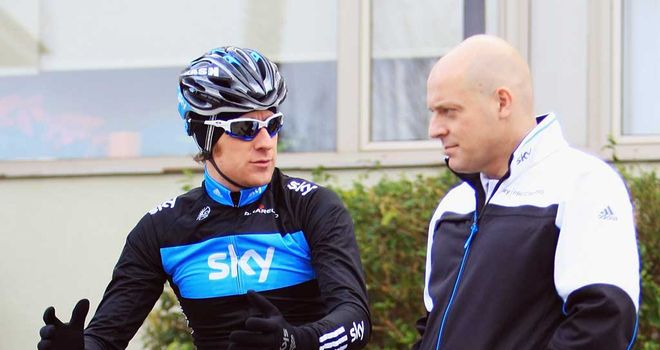Sirs Bradley Wiggins and Dave Brailsford worked closely together on the composition of Team Sky's Giro squad