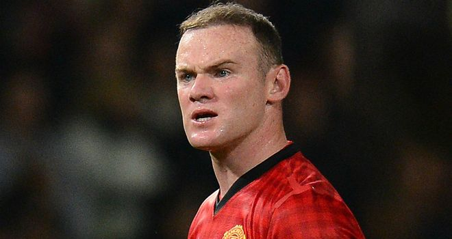 Wayne Rooney: Injured in training on Christmas Day