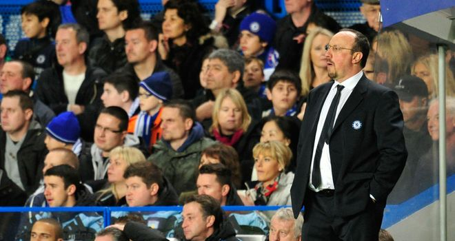 Rafa Benitez: Was arguably the star of the show as Chelsea hammered Aston Villa