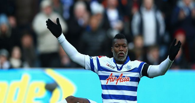 Djibril Cisse: QPR striker has left Loftus Road on loan