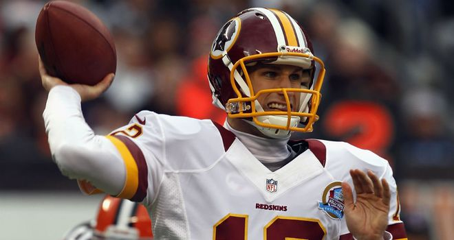 Kirk Cousins: made sure the Washington Redskins didn&#39;t slip up without Robert Griffin III