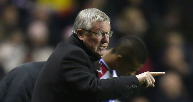 Sir Alex Ferguson: Not happy with defending at Reading
