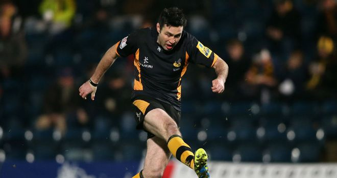 Stephen Jones: flourished at 10 against Bath