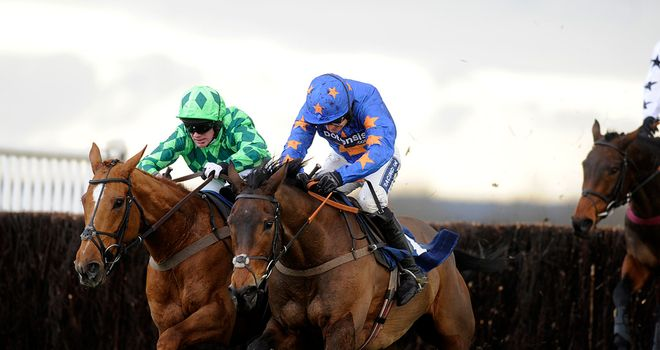 Rolling Aces: Maintained Paul Nicholls' fine run in the race