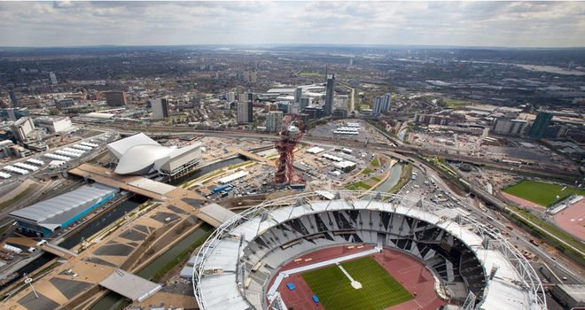 Olympic Stadium: Among the 17 venues on the long list for the 2015 Rugby World Cup