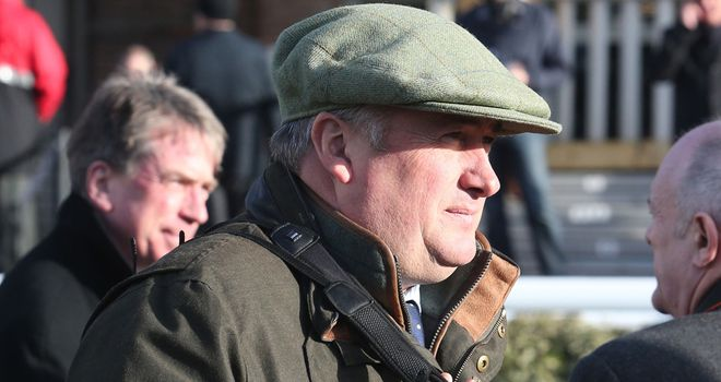 Paul Nicholls: Unable to work his team on Friday morning