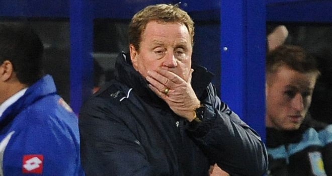 Harry Redknapp: QPR manager will be leading his side at Loftus Road despite a Tube strike