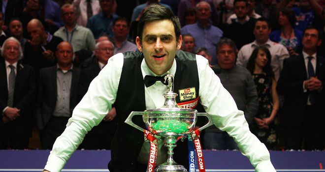 Ronnie O&#39;Sullivan: Tipped for comeback by Stephen Hendry