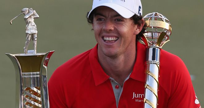 Rory McIlroy can reflect on a stunning and glorious 2012