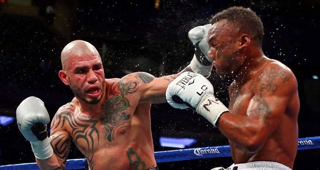 Trout v Cotto: Second straight defeat for Miguel