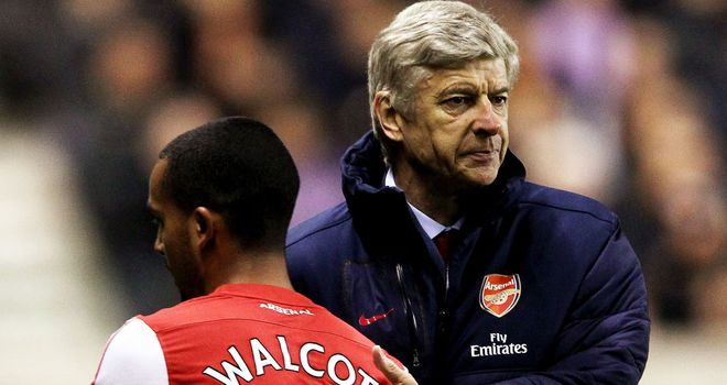 Arsene Wenger: Set to unleash Theo Walcott at St Mary's