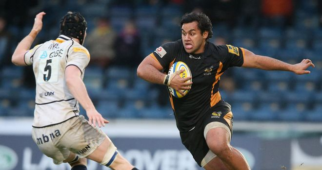 Billy Vunipola on the charge against Sale in December