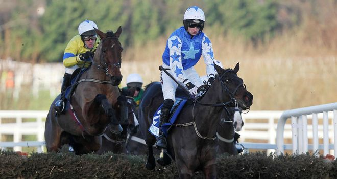Zuzka in winning action under Patrick Mullins