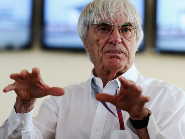 Bernie Ecclestone: 'It's all a little bit political'